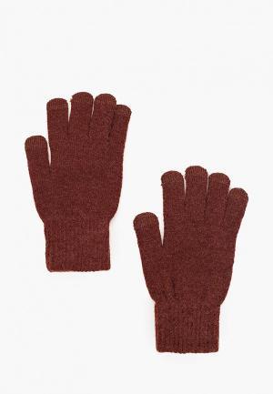 Перчатки Mango Man TOUCH. Цвет: коричневый