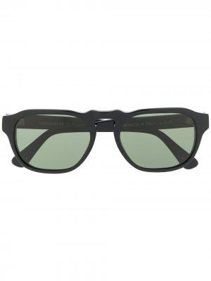 Солнцезащитные очки в прямоугольной оправе L.G.R. Цвет: черный