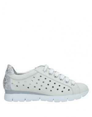 Низкие кеды и кроссовки THE FLEXX. Цвет: светло-серый
