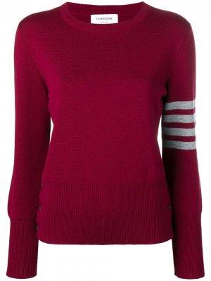 Пуловер Milano с полосками 4-Bar Thom Browne
