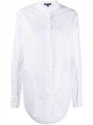 Рубашка с вырезом Ann Demeulemeester. Цвет: белый