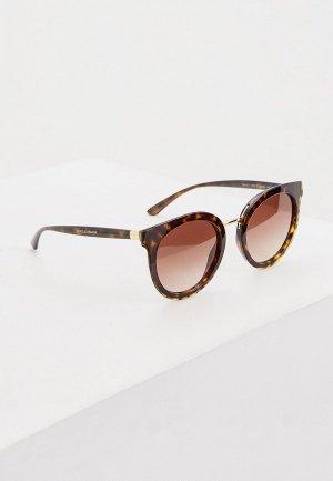 Очки солнцезащитные Dolce&Gabbana 0DG4371 502/13. Цвет: коричневый