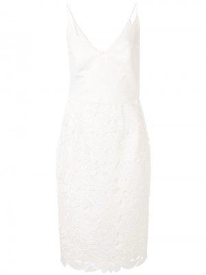 Платье с цветочной вышивкой Black Halo