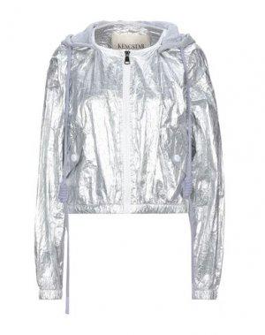 Куртка KENGSTAR. Цвет: серебристый