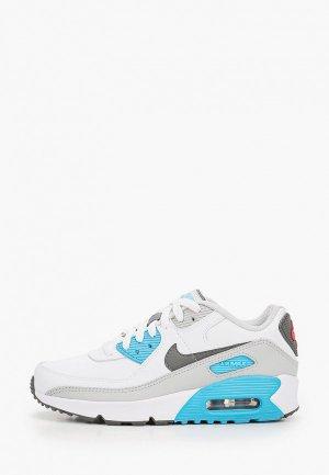 Кроссовки Nike AIR MAX 90 LTR (GS). Цвет: белый