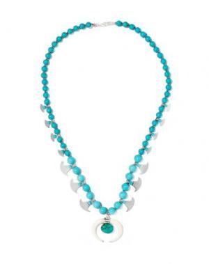 Ожерелье CHAN LUU. Цвет: лазурный