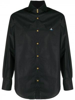 Рубашка с длинными рукавами Vivienne Westwood. Цвет: черный