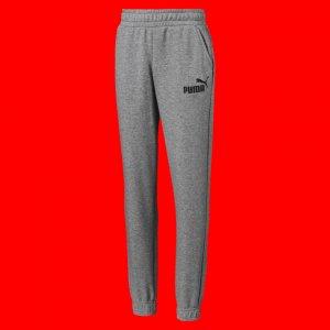 Детские штаны Essentials Sweat Pants B PUMA. Цвет: серый