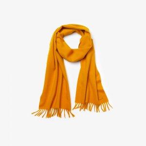 Шапки, шарфы и перчатки Шарф Lacoste. Цвет: оранжевый