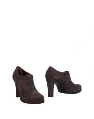 Ботинки ELATA. Цвет: свинцово-серый