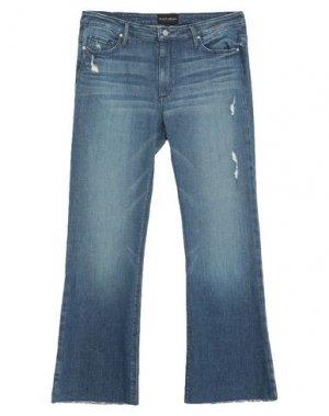 Джинсовые брюки BLACK ORCHID. Цвет: синий