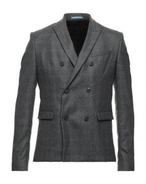 Пиджак EXTENDED by MINIMUM. Цвет: серый
