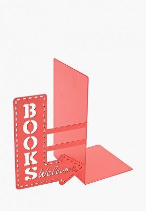 Держатель для книг Balvi BookShop. Цвет: красный