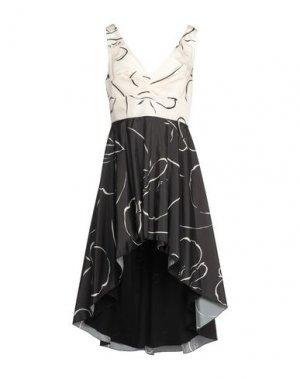 Короткое платье RINASCIMENTO. Цвет: черный