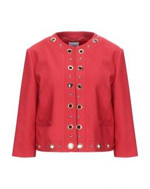 Пиджак CLIPS MORE. Цвет: красный