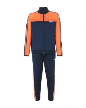 Спортивный костюм REEBOK. Цвет: темно-синий