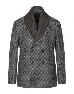 Пиджак GIORGIO ARMANI. Цвет: свинцово-серый