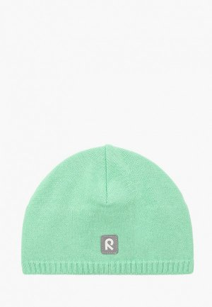 Шапка Reima Haapa. Цвет: зеленый