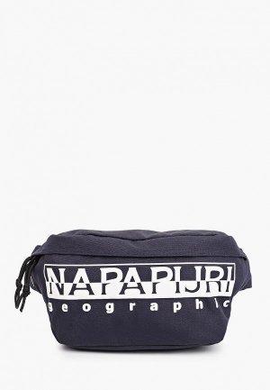 Сумка поясная Napapijri. Цвет: синий