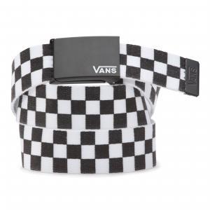 Ремень Deppster II Web VANS. Цвет: черный_белый