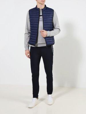 Мужской жилет Trussardi Jeans. Цвет: siniy