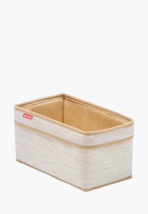 Корзина для хранения Casy Home. Цвет: белый