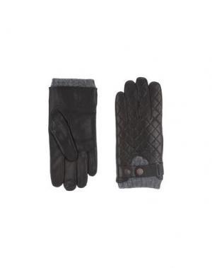 Перчатки BEN SHERMAN. Цвет: темно-коричневый