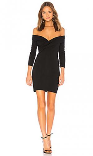 Мини-платье с открытыми плечами cypress MAJORELLE