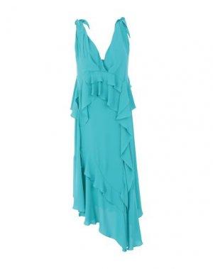 Платье длиной 3/4 HANITA. Цвет: изумрудно-зеленый