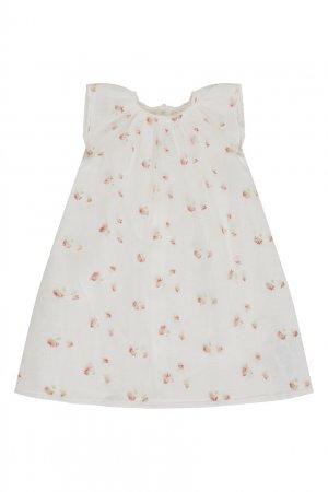 Комплект из платья и шорт Bonpoint. Цвет: multicolor