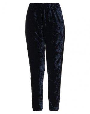 Повседневные брюки MARIUCCIA. Цвет: темно-синий