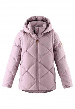 Пуховик Heiberg Розовый Reima. Цвет: розовый