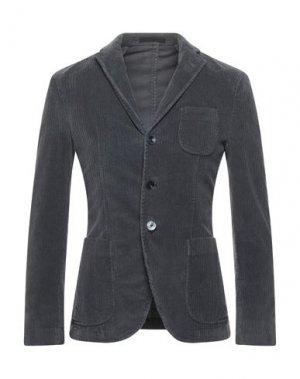 Пиджак PAOLONI. Цвет: серый