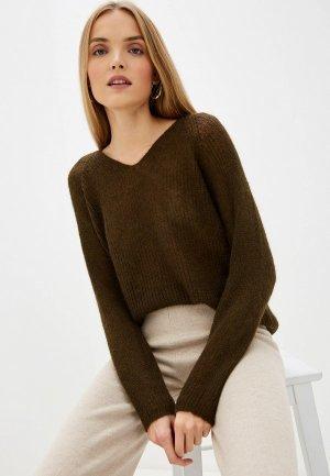 Пуловер Max Mara Leisure. Цвет: коричневый