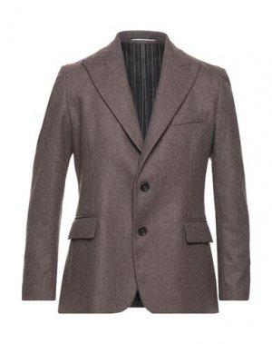 Пиджак MAESTRAMI. Цвет: темно-коричневый