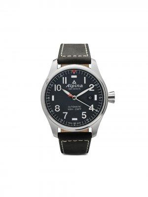 Наручные часы Startimer Pilot Automatic 44 мм Alpina. Цвет: blue