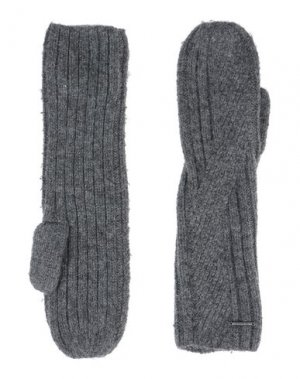 Перчатки BARTS. Цвет: серый