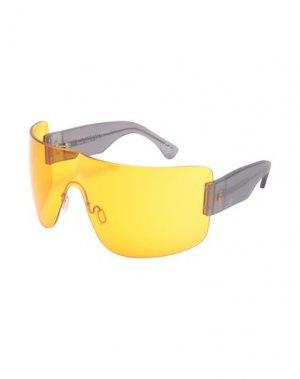 Солнечные очки RETROSUPERFUTURE. Цвет: оранжевый