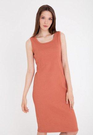 Платье Gregory. Цвет: коричневый