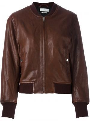 Куртка бомбер Brantley Isabel Marant Étoile. Цвет: красный