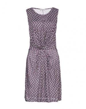 Короткое платье ALPHA STUDIO. Цвет: темно-фиолетовый