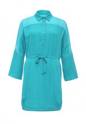 Платье Bebe. Цвет: бирюзовый