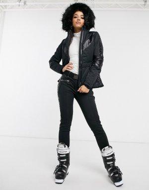Черная горнолыжная куртка X Julien Macdonald-Черный Dare 2b