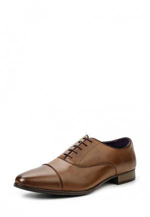 Туфли Elong EL025AMTJL15. Цвет: коричневый