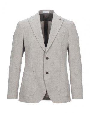 Пиджак SARTORIA LATORRE. Цвет: светло-серый