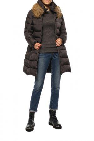 Пальто ADD. Цвет: серый