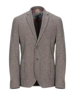 Пиджак BERNA. Цвет: коричневый