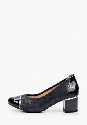 Туфли Caprice Увеличенная полнота, Comfort. Цвет: синий