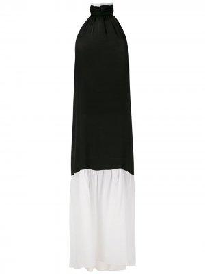 Длинное платье Brigitte. Цвет: разноцветный