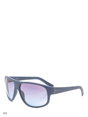 Солнцезащитные очки GUF 0130 W01 MNV-48 GUESS. Цвет: темно-синий, серый